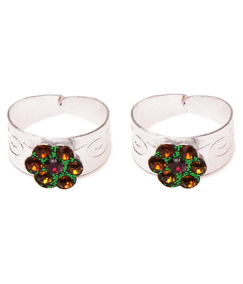 iGenie Multicolour Alloy Toe Ring