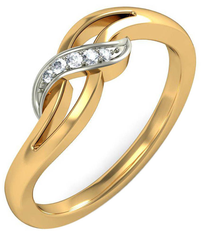 Simple Gold Ring For Women