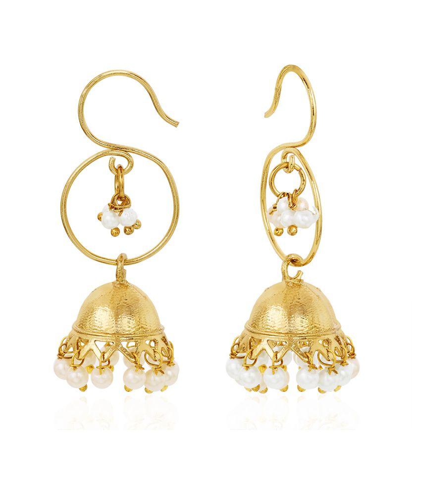 Cuzibox Gold Alloy Hangings Earrings
