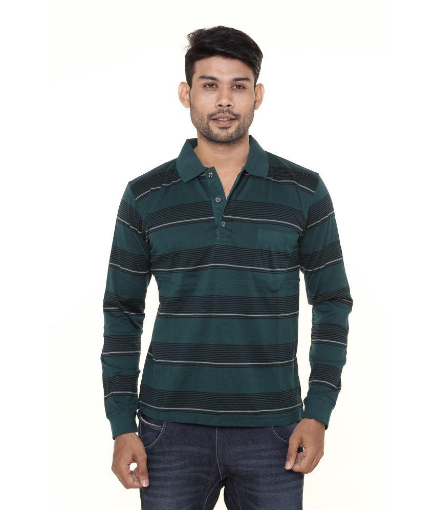 Gleneagles Green Cotton T-Shirt