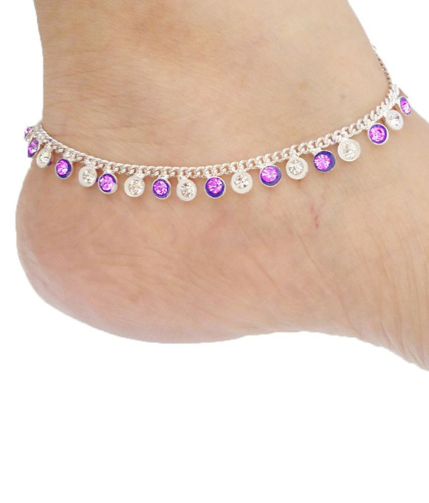 Rituals Silver Pair of Anklets