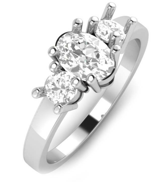 ZeroKaata 92.5 Sterling Silver CZ Ring