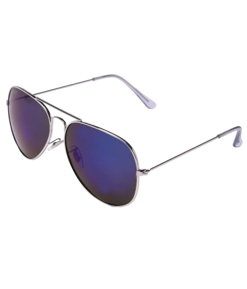 95a6b64e08f MTV Roadies Blue Medium Unisex Aviator Sunglasses Snapdeal price. Sunglasses  Deals at Snapdeal .