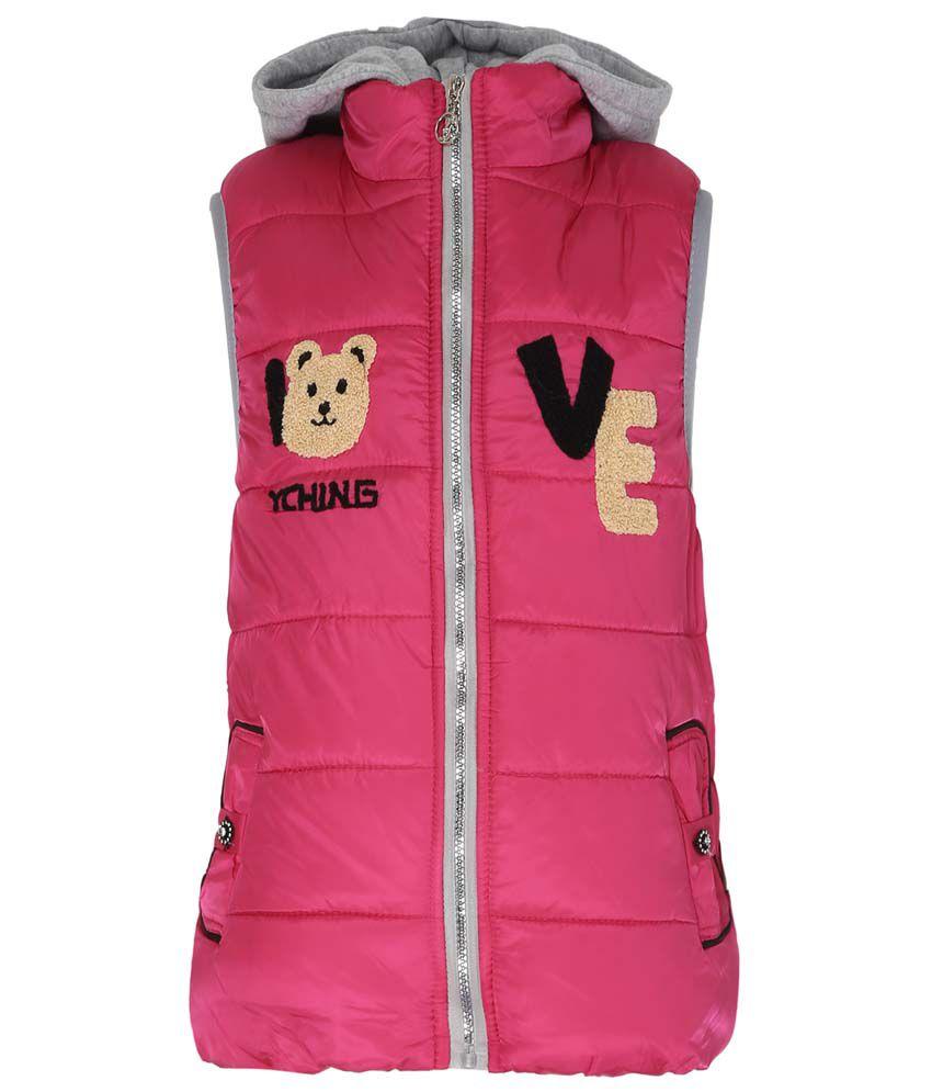 Sakhi Sang Pink Sleeveless Jacket
