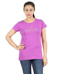 YMFOnline Purple Cotton Tees