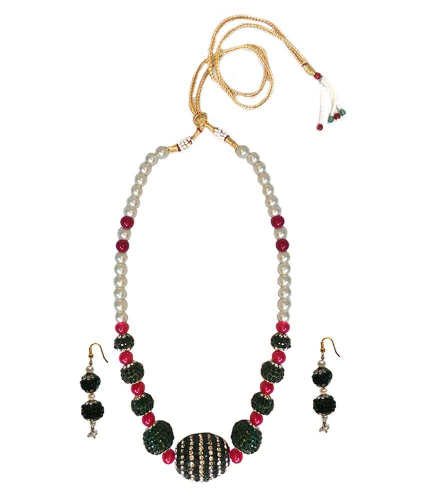 Charvee Multicolour Necklace Set
