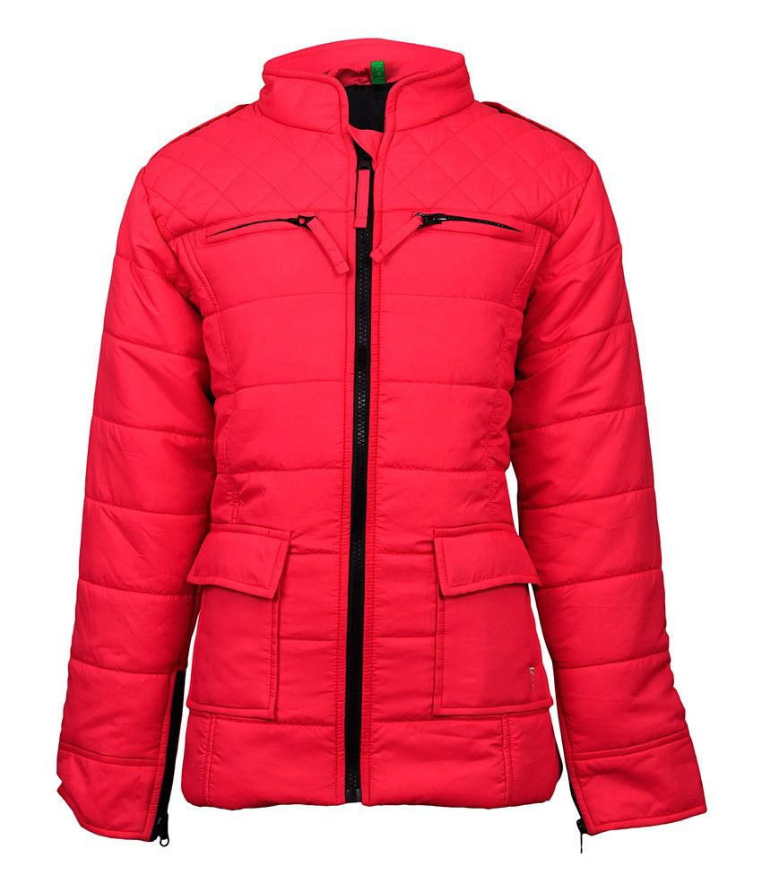 Gini & Jony Synthetic Pink WINTER JACKET For Kids