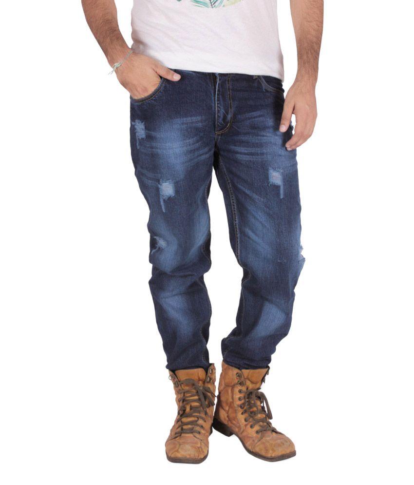 LesJeunes Blue Regular Fit Jeans