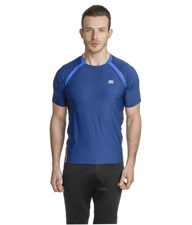T10 Sports Blue Ultra Bamboo T-Shirt