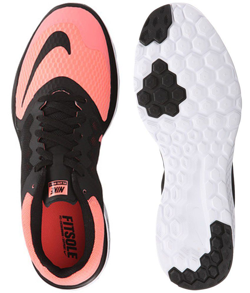 Buy Cheap Nike Fs Lite Run 4 Black Running Shoes for Men Online