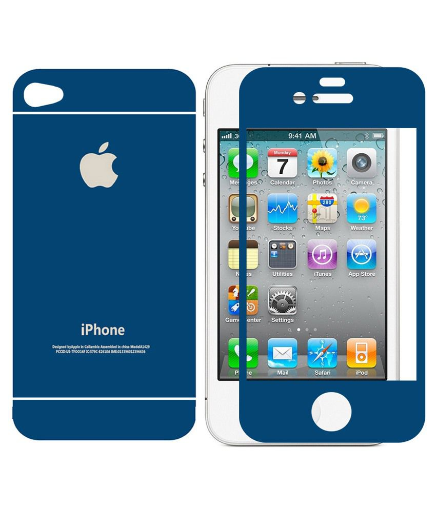 Praiq Tempered Glass Screen Guard For Apple Iphone 4s