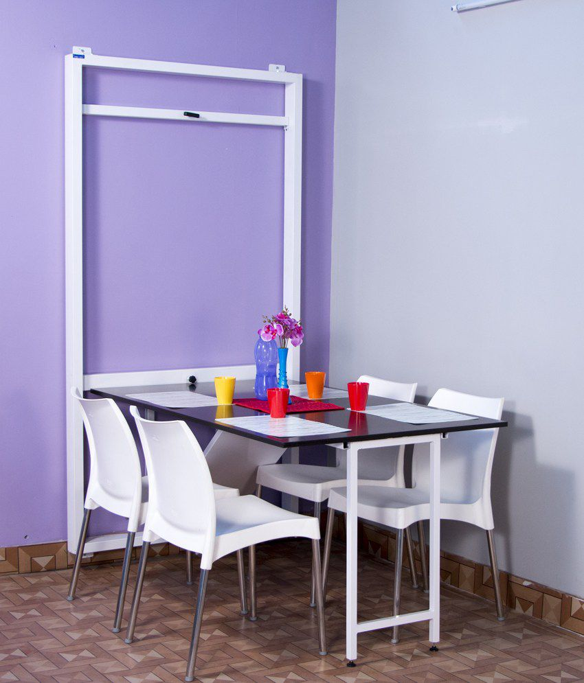Spaceone Foldable Dining Table Buy Spaceone Foldable Dining Table Online At
