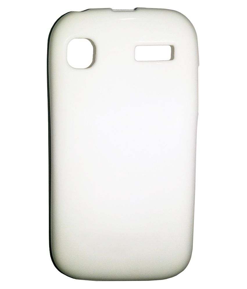 online store 62d14 9fcd9 AIU Back Cover Jelly Case Silicone For Micromax A35 Bolt White ...