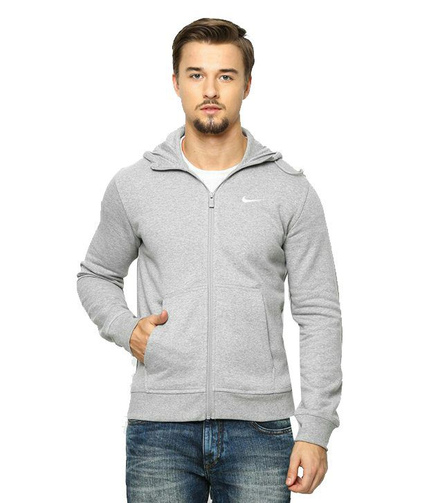 7f7de541 Nike Grey Solid Full Sleeves Sweatshirt - Buy Nike Grey Solid Full Sleeves  Sweatshirt Online at Low Price in India - Snapdeal
