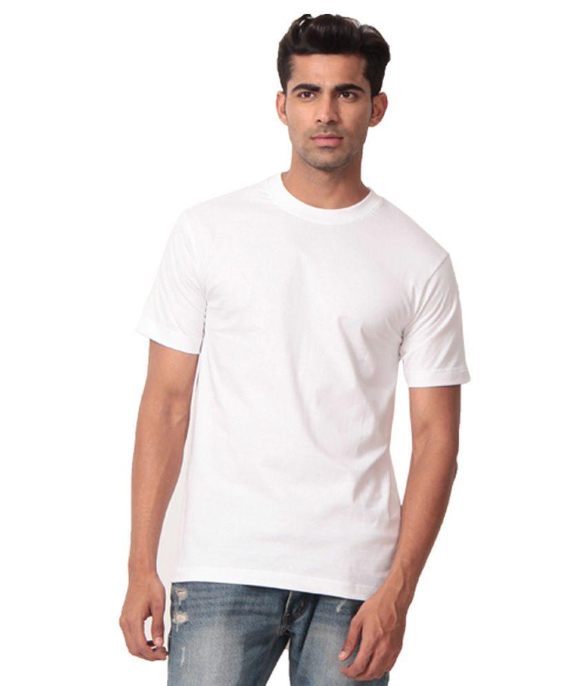 Winson White Cotton T-Shirt