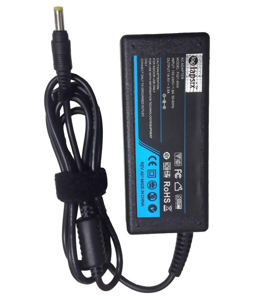 LAPSIX Laptop AC Adapter and Charger 19.5V-3.95A For Sony Vaio PCG-R505GCP