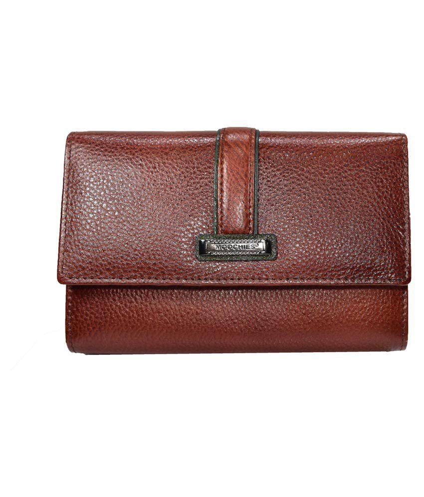 Moochies Brown Leather Wallet