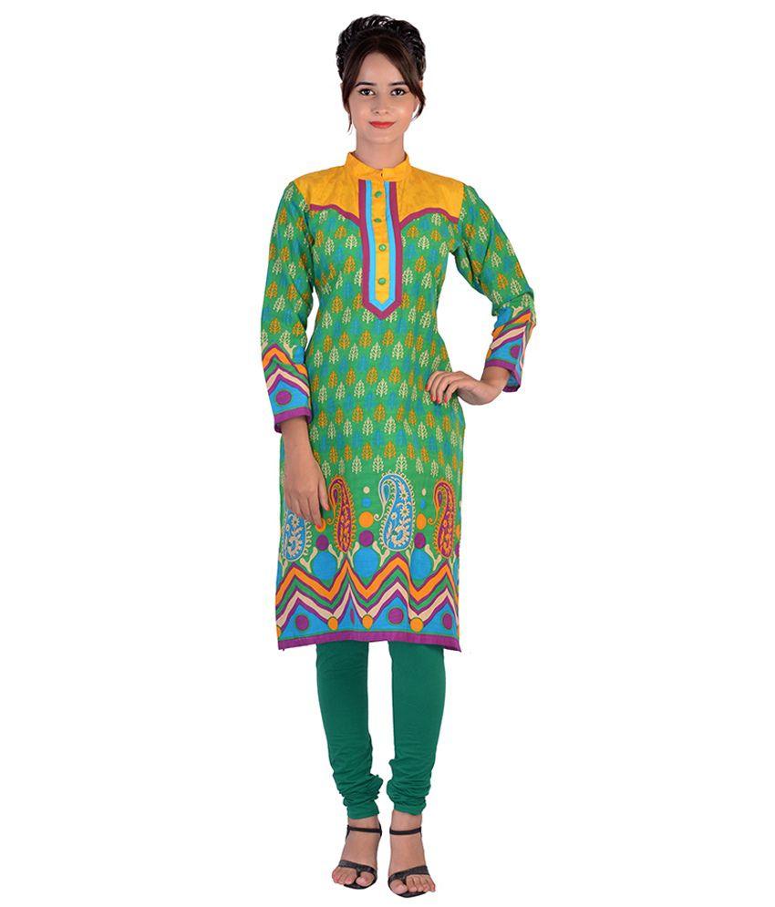 Aavaya Fashion Multi Cotton Kurti