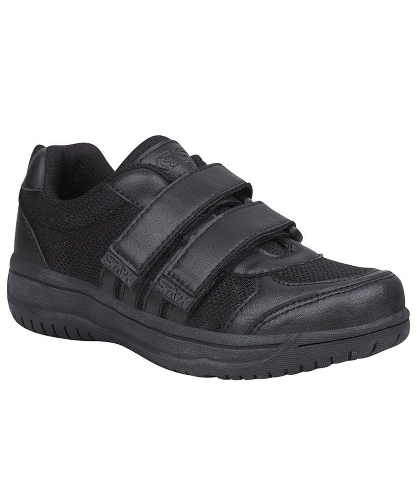 Bata Black School Shoes