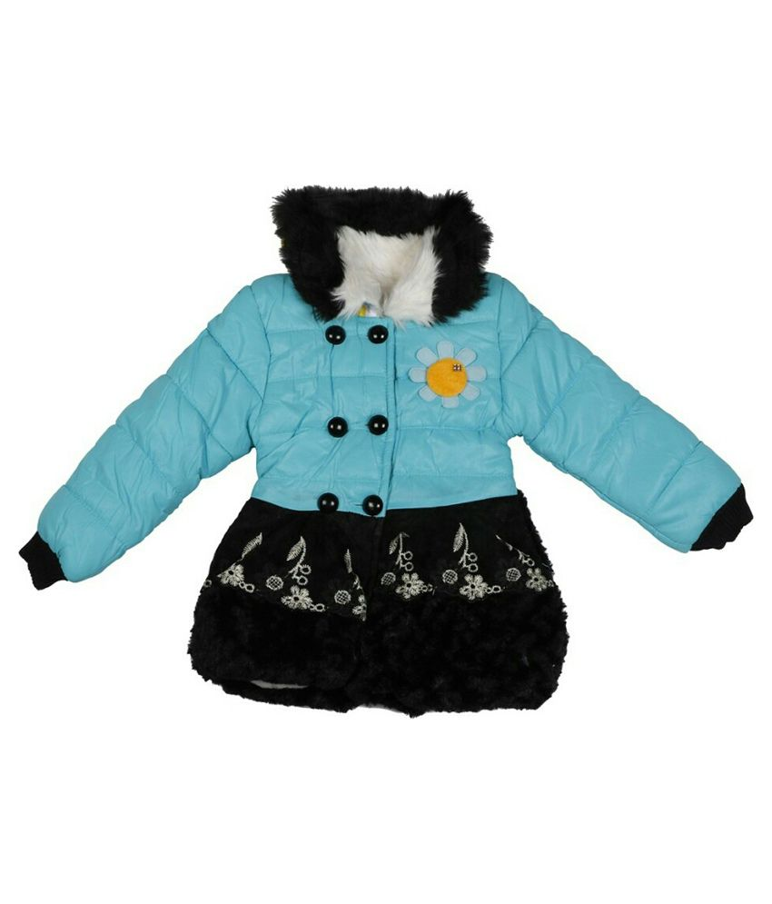 Ishika Garments Blue Padded Jacket