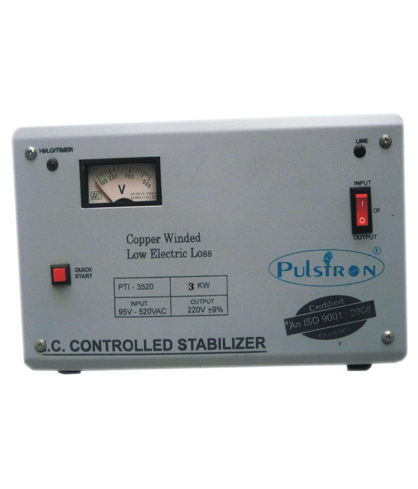 Pulstron-PTI-3520-Voltage-Stabilizer