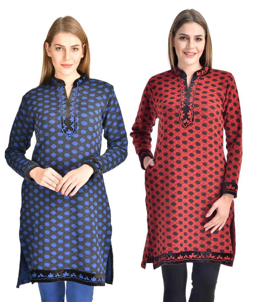 ca246b5e8 Rakshita s Collection Woolen Kurti ( Set Of 2) Price in India