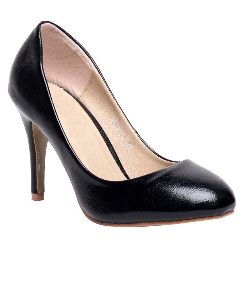 Bharatiya Black Formal Shoes