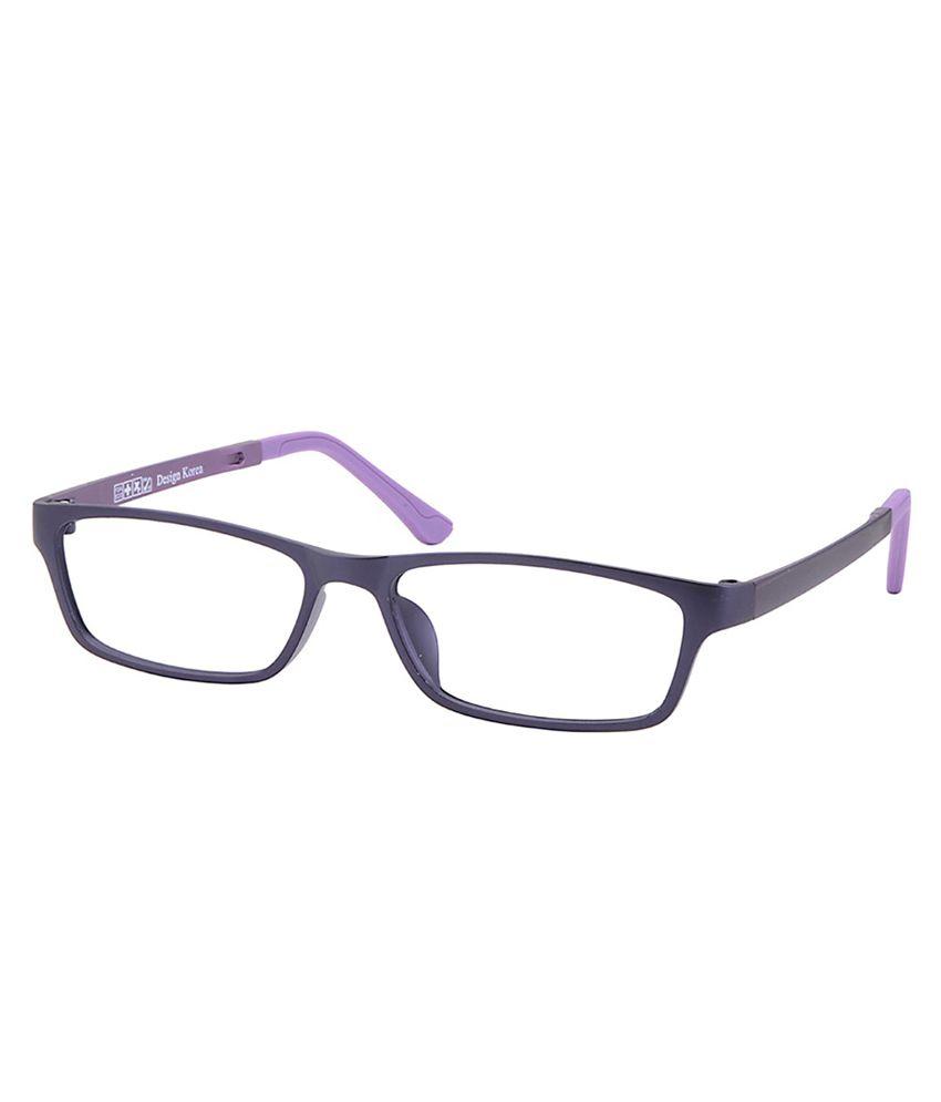 Eyeglasses Frames Purple : Comfortsight Purple Polycarbonate Eyeglass Frame - Buy ...