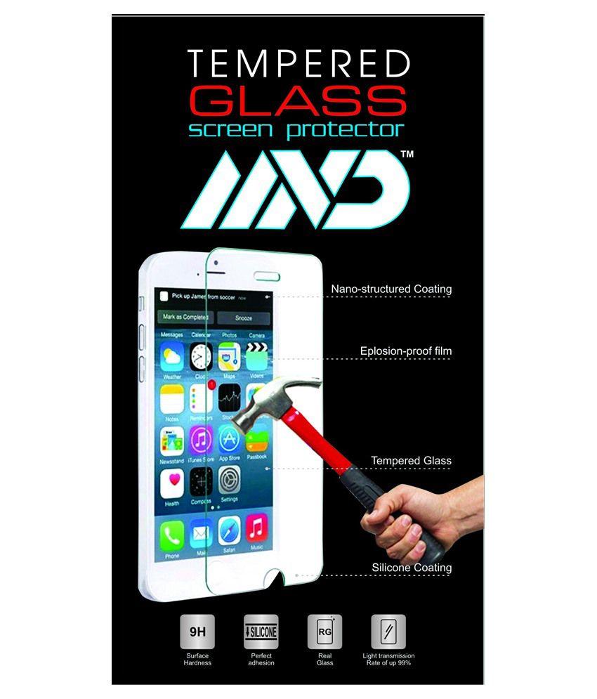 MVD Tempered Glass Scree Guard For Lava- X8