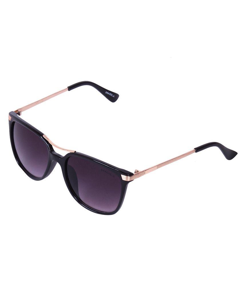 Magila MG-512-C4 Gray Rectangle Sunglasses For Women