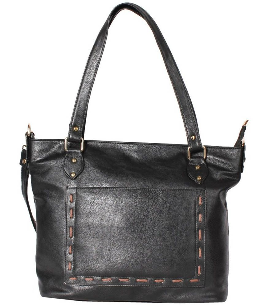 Adisa Black Shoulder Bag