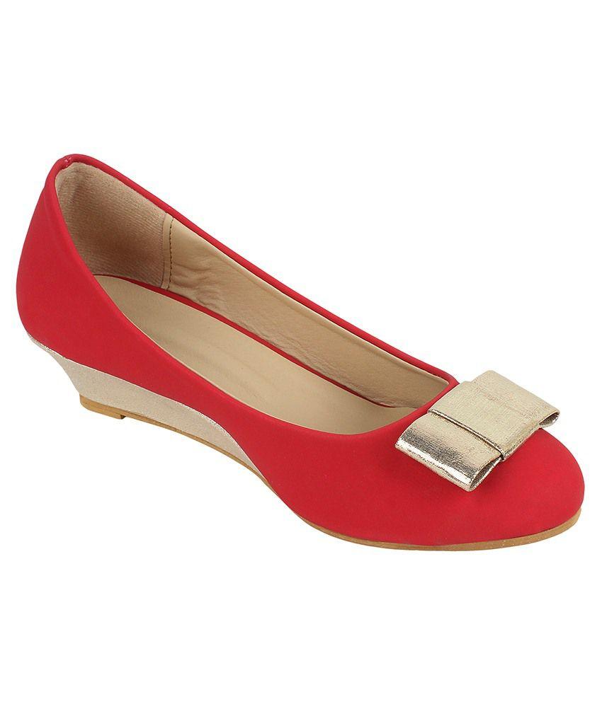 Glitzy Galz Red Formal Shoes