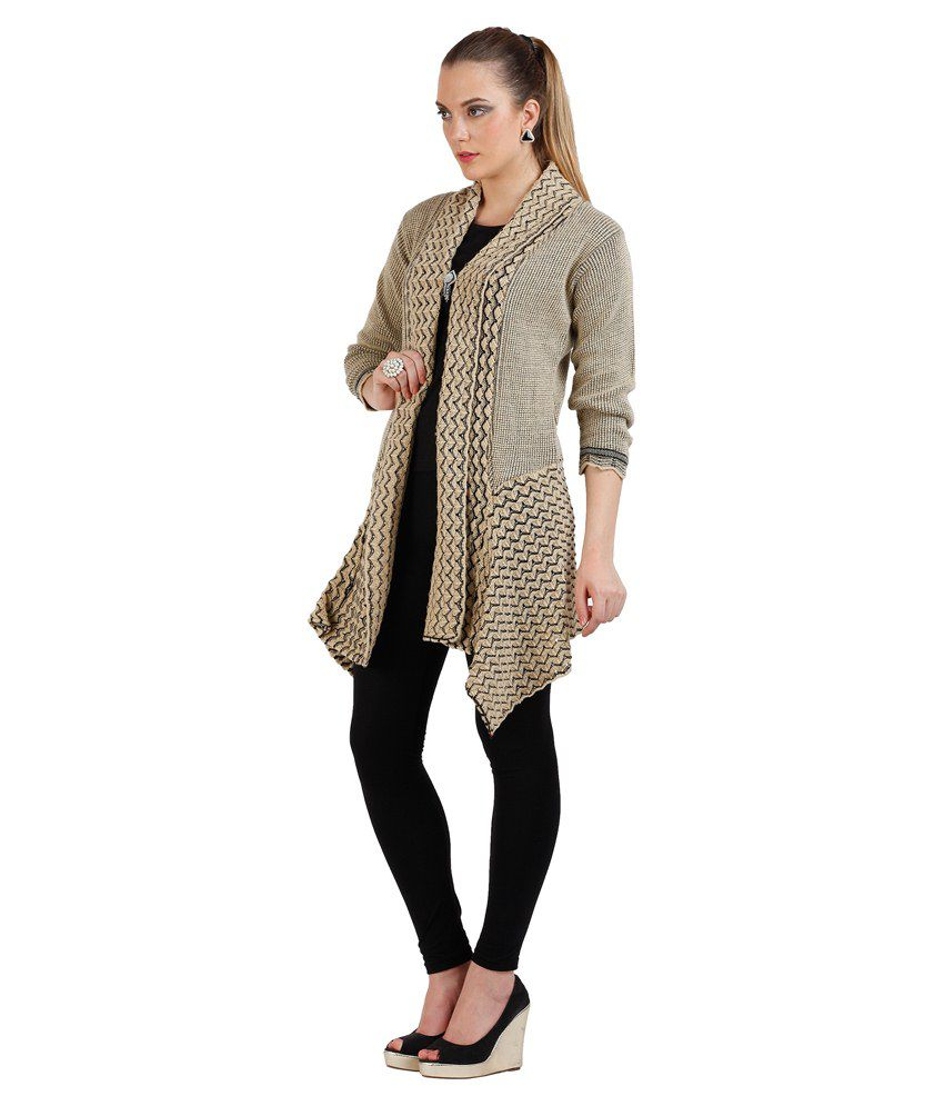 63ada98bff3 Buy Skidlers Beige Woollen Shrugs Online at Best Prices in India ...