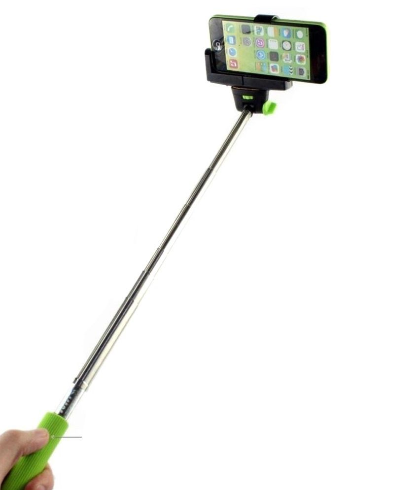 kifayati selfie stick with inbuilt bluetooth for all samsung mobiles selfie sticks. Black Bedroom Furniture Sets. Home Design Ideas