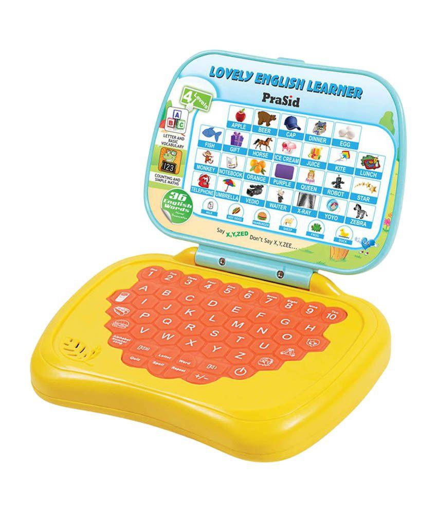 Prasid Lovely English Learner Kids Laptop - Buy Prasid ...