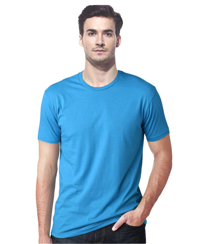 gallop blue cotton t shirt buy gallop blue cotton t shirt online at low price. Black Bedroom Furniture Sets. Home Design Ideas