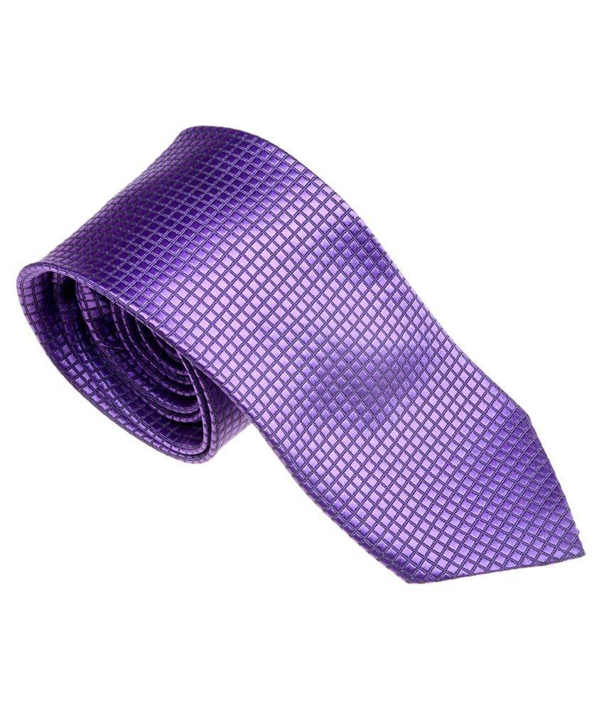 Picador Purple Satin Narrow Ties