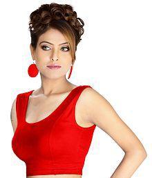 Abhi Red Cotton Blouses
