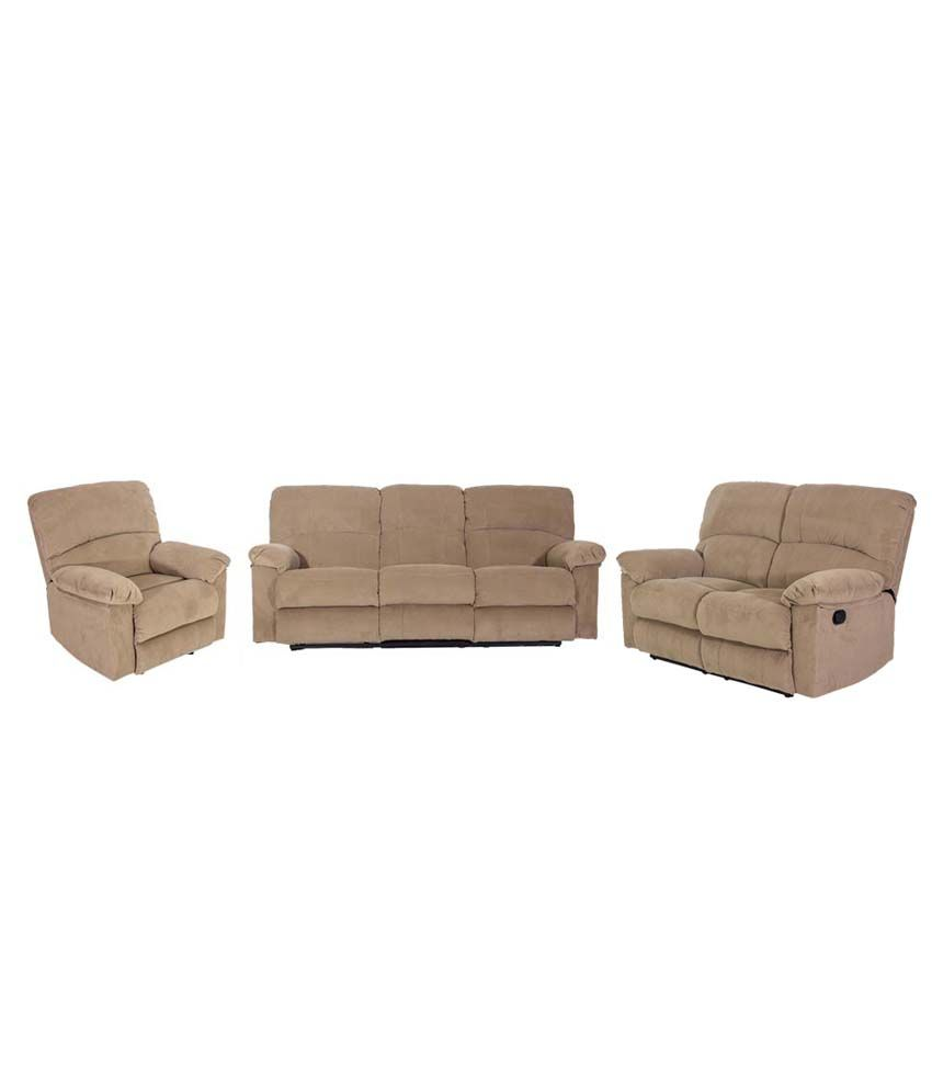 Amaze Recliner Sofa Set 3 2 1 Online At Best Prices In India On Snapdeal