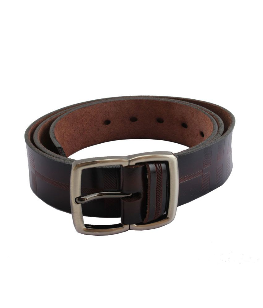 Peirce Markvin Brown Leather Belt