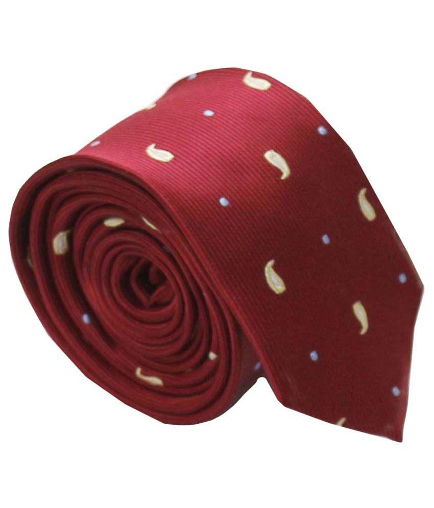 Classique Printed Microfiber Premium Slim Tie