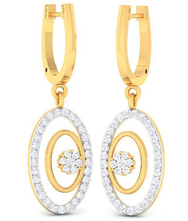Diaashi 18kt Gold Diamond Studs
