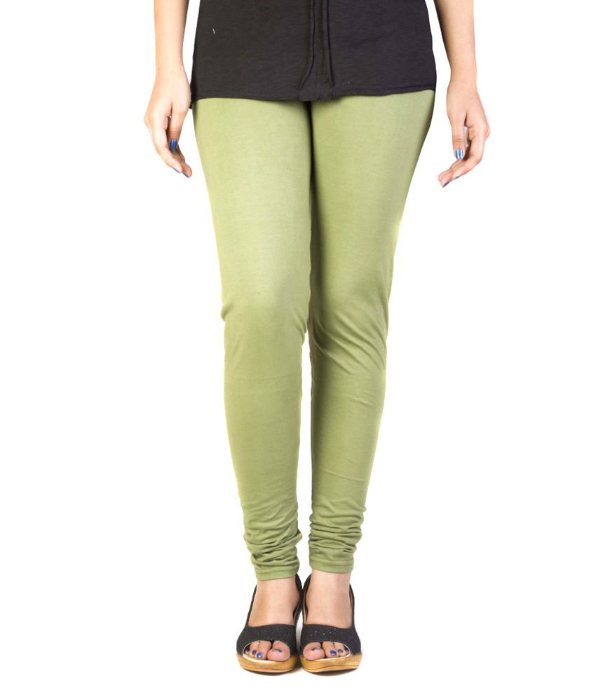 Fabdy-Green-Cotton-Leggings