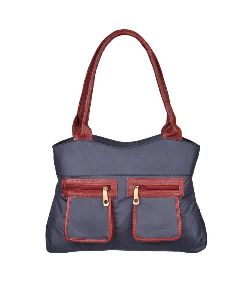 Fantosy Blue Shoulder Bags