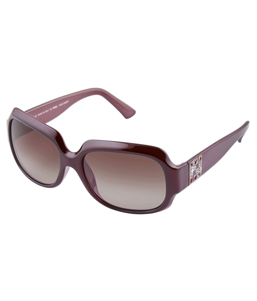 41edb440acb Fendi Brown Frame Oversized Sunglasses - Buy Fendi Brown Frame Oversized Sunglasses  Online at Low Price - Snapdeal