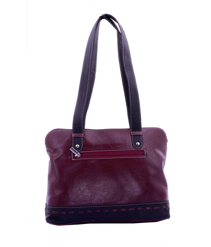 Afro Arts Purple Shoulder Bag