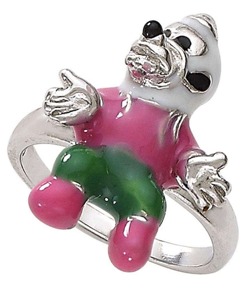 Ricchezza Silver Contemporary Ring