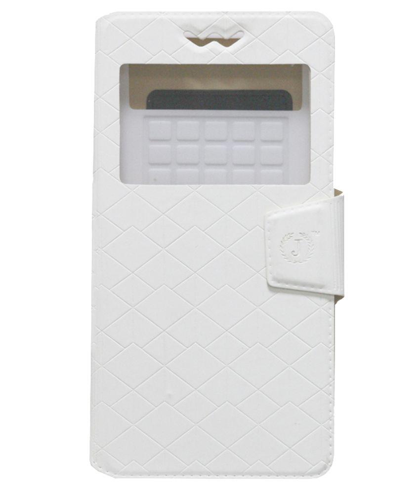 Jo Jo Flip Covers LG Optimus TrueHD LTE P936 White - White
