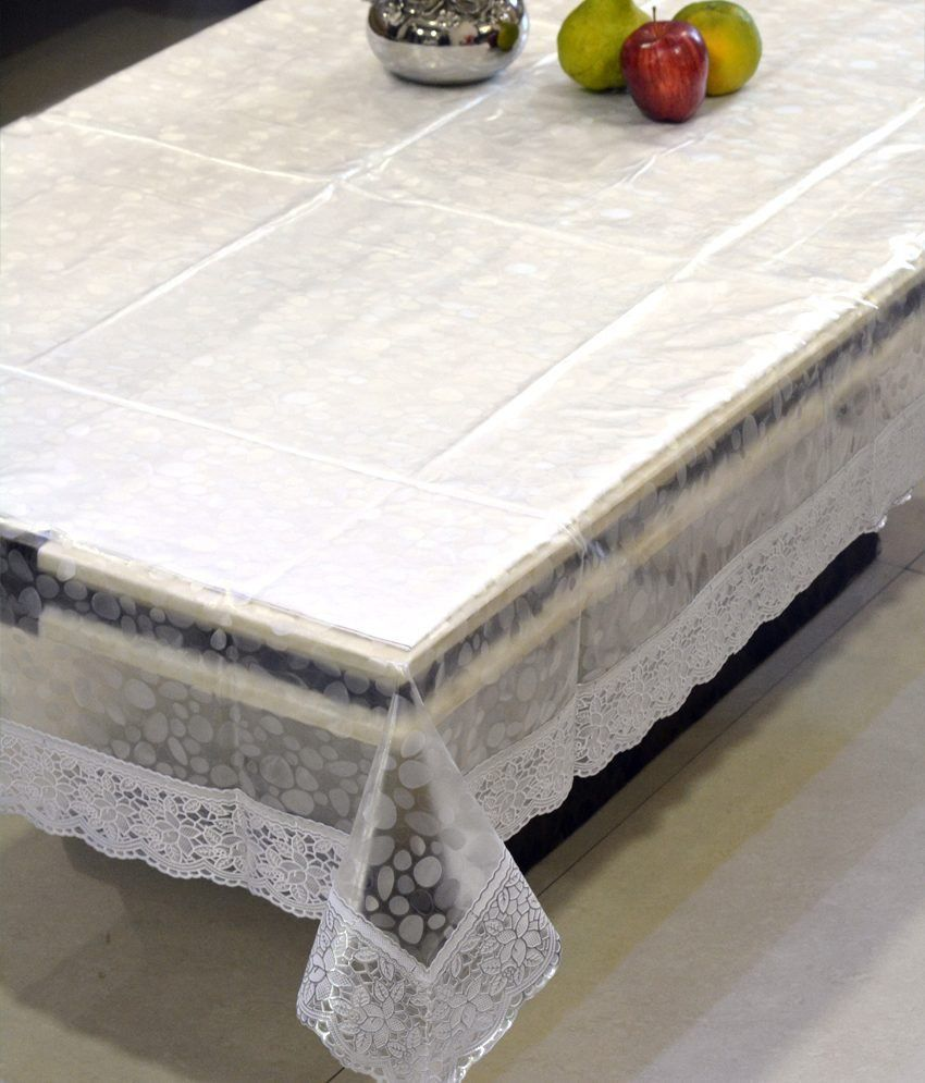 kuber industries dining table cover transparent 3d 6 seater buy rh snapdeal com