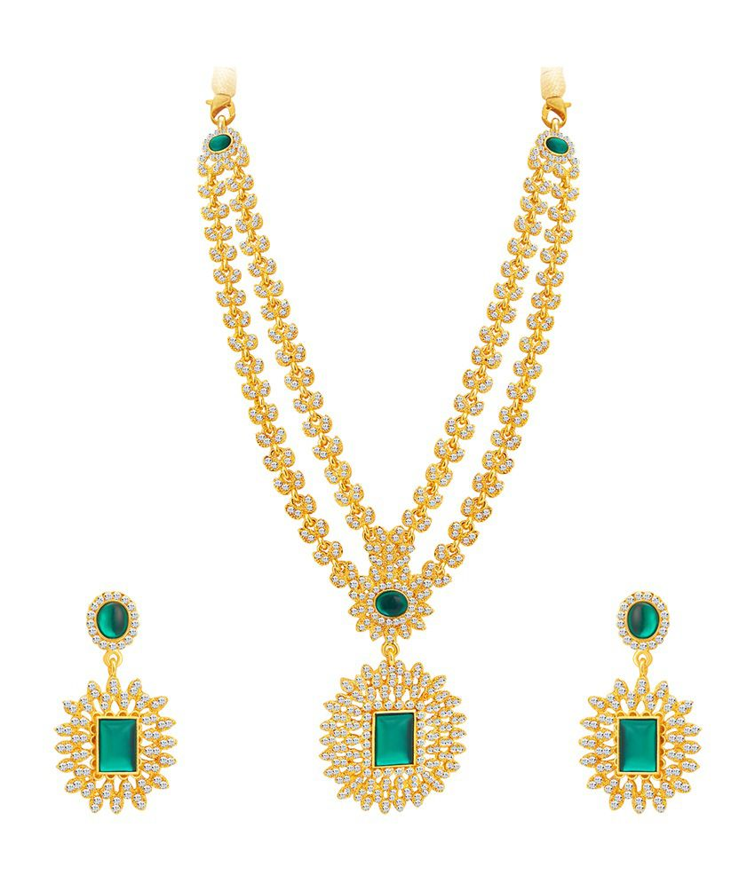 Sukkhi Exquitely Gold Plated Necklace Set for Women